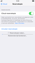 Apple iPhone 6 - iOS 11 - Device maintenance - Back up - Stap 13