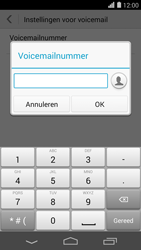 Huawei Ascend P7 - Voicemail - handmatig instellen - Stap 8