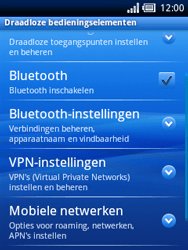 Sony Ericsson Xperia X10 Mini Pro - Bellen - in het buitenland - Stap 5