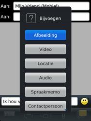 BlackBerry 9810 Torch - MMS - Afbeeldingen verzenden - Stap 9