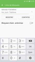 Samsung Galaxy S7 - Chamadas - Como bloquear chamadas de um número específico - Etapa 9