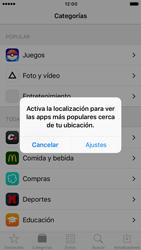 Apple iPhone 6 iOS 10 - Aplicaciones - Descargar aplicaciones - Paso 4