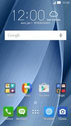 Asus Zenfone 2 - Rede móvel - Como ativar e desativar uma rede de dados - Etapa 1
