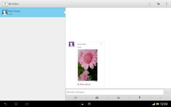 Sony SGP321 Xperia Tablet Z LTE - MMS - afbeeldingen verzenden - Stap 15