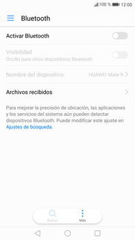 Huawei Mate 9 - Bluetooth - Conectar dispositivos a través de Bluetooth - Paso 4