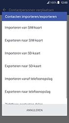 HTC U Play (Model 2PZM3) - Contacten en data - Contacten kopiëren van toestel naar SIM - Stap 8