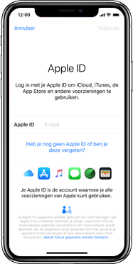 Apple iphone-xs-model-A1920 - Instellingen aanpassen - Back-up maken in je account - Stap 4