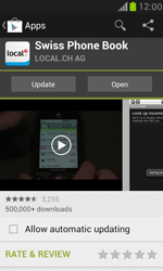 Samsung I8190 Galaxy S III Mini - Applications - Download apps - Step 9