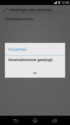 Sony D2303 Xperia M2 - Voicemail - handmatig instellen - Stap 9
