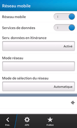 BlackBerry Z10 - Internet - configuration manuelle - Étape 8