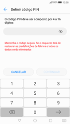 Huawei P10 - Segurança - Como ativar o código de bloqueio do ecrã -  6