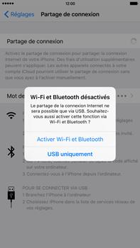 Apple iPhone 6s Plus - Internet et connexion - Utiliser le mode modem par USB - Étape 8