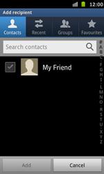Samsung I9070 Galaxy S Advance - E-mail - Sending emails - Step 6