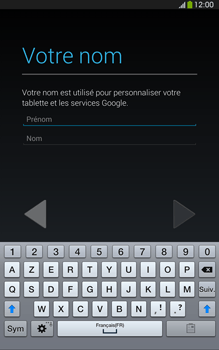 Samsung Galaxy Tab 3 8 4G - Premiers pas - Créer un compte - Étape 10