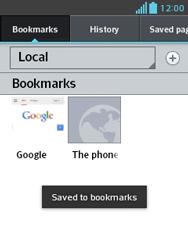 LG E430 Optimus L3 II - Internet - Internet browsing - Step 14