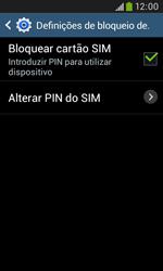 Samsung Galaxy Trend Plus - Segurança - Como ativar o código PIN do cartão de telemóvel -  9