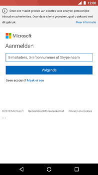 Nokia 6 (2018) - E-mail - e-mail instellen (outlook) - Stap 8