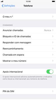 Apple iPhone 7 Plus iOS 11 - Segurança - Como ativar o código PIN do cartão de telemóvel -  4