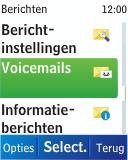 Nokia C1-01 - Voicemail - handmatig instellen - Stap 6