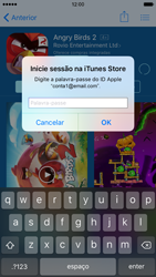 Apple iPhone 6 iOS 9 - Aplicações - Como pesquisar e instalar aplicações -  16