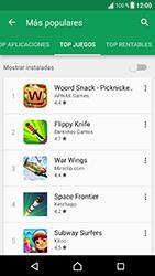 Sony Xperia XZ - Android Nougat - Aplicaciones - Descargar aplicaciones - Paso 8