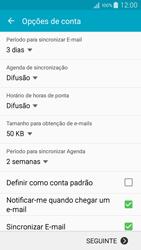 Samsung Galaxy A5 - Email - Adicionar conta de email -  7