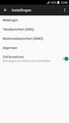 HTC U Play (Model 2PZM3) - SMS - Handmatig instellen - Stap 7