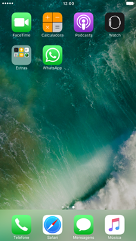 Apple iPhone 7 Plus - Aplicações - Como configurar o WhatsApp -  4