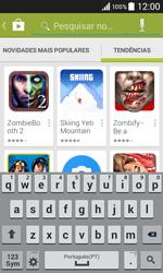 Samsung Galaxy Core II - Aplicações - Como pesquisar e instalar aplicações -  14