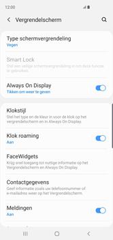 Samsung Galaxy S10 - Beveiliging - stel in of wijzig pincode voor je toestel - Stap 5