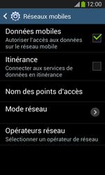 Samsung S7275 Galaxy Ace III - Internet - Configuration manuelle - Étape 7