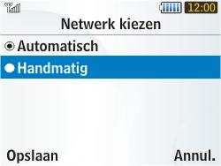 Samsung S3350 Chat 335 - Netwerk - gebruik in het buitenland - Stap 9