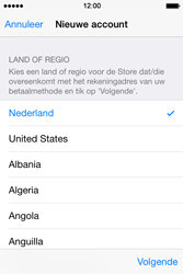 Apple iPhone 4s iOS 8 - Applicaties - Account aanmaken - Stap 10