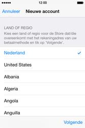 Apple iPhone 4S met iOS 8 (Model A1387) - Applicaties - Account aanmaken - Stap 10