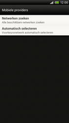 HTC S720e One X - Netwerk - Gebruik in het buitenland - Stap 6