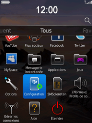 BlackBerry 9800 Torch - E-mail - Configuration manuelle - Étape 3