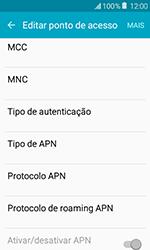 Samsung Galaxy J1 - Internet (APN) - Como configurar a internet do seu aparelho (APN Nextel) - Etapa 11