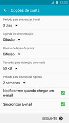 Samsung Galaxy S5 - Email - Adicionar conta de email -  7