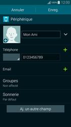 Samsung Galaxy Alpha - Contact, Appels, SMS/MMS - Ajouter un contact - Étape 10