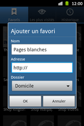 Samsung S6500D Galaxy Mini 2 - Internet - Navigation sur Internet - Étape 8