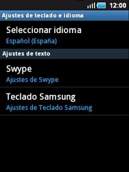 Samsung S5570 Galaxy Mini - Primeros pasos - Activar el equipo - Paso 11