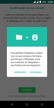Wiko View Dual SIM - Aplicações - Como configurar o WhatsApp -  6