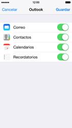 Apple iPhone 6 iOS 8 - E-mail - Configurar Outlook.com - Paso 8