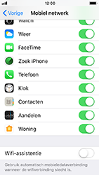 Apple iPhone 5s - iOS 12 - wifi - schakel Wi-Fi Assistentie uit - stap 6