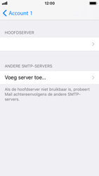 Apple iPhone 5s - iOS 11 - E-mail - Account instellen (POP3 zonder SMTP-verificatie) - Stap 17