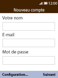 Nokia 8110 Banana - E-mail - 032c. Email wizard - Outlook - Étape 7