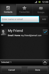 Sony C1505 Xperia E - Email - Sending an email message - Step 7