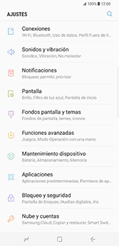 Samsung Galaxy S8 Plus - Internet - Ver uso de datos - Paso 4