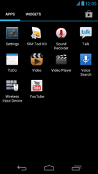 Acer Liquid E1 - Internet - Enable or disable - Step 3