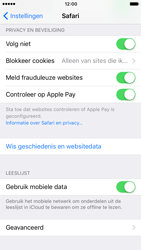 Apple iPhone 7 (Model A1778) - Privacy - Privacy instellingen van de browser aanpassen - Stap 8
